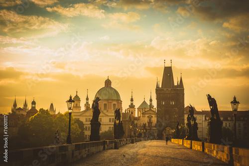 Foto op Canvas Bedehuis Prague ,Charles bridge