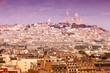 Montmartre. Retro filtered tone.