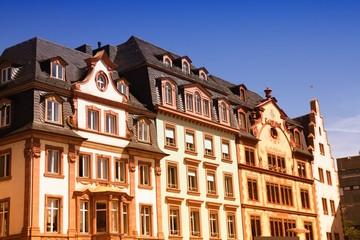 Germany - Mainz. Retro filtered tone.