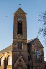 Kirche  in Saarbrücken- Burbach