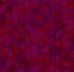 Seamless vector deep pink wine triangular pattern