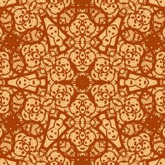 Seamless ornamental mandala background wallpaper. Vinatge design
