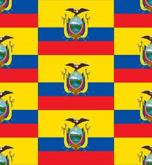 Ecuador flag texture vector