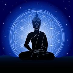 buddha sternenhimmel