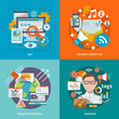Seo Internet Marketing Flat - 76004310
