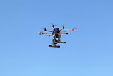 Multicopter camera poster