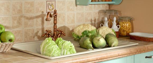 kitchen macro photo