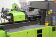 Leinwanddruck Bild - Injection moulding machine