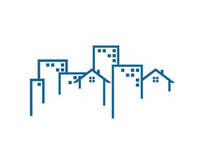 building logo template v,2
