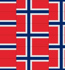 Norway flag texture vector