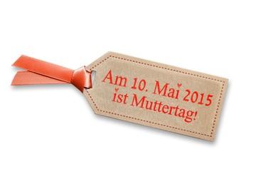 Erinnerung Pplakette für Muttertag am 10. Mai 2015