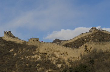 Badaling Great Wall in Yanqing County Beijing Ming Dynasty