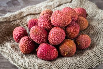 Litchi fruits
