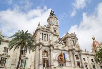 Valencia City Hall Building