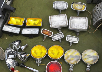 Auxiliary lamps