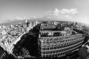 CUBA, Havana, view of the city - FILM SCAN
