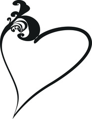 cuore stilizzato