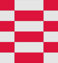 Poland flag texture vector