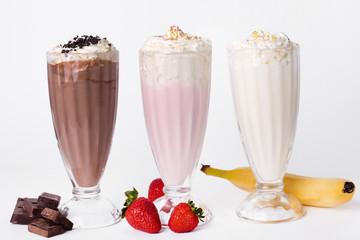 Milkshake on the table