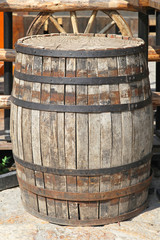 Old barrel