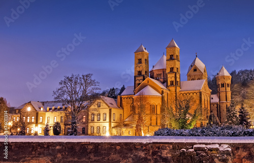 Leinwanddruck Bild Abteikirche Maria Laach