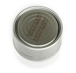 codes on the tinned food