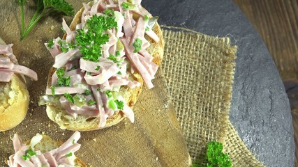 Homemae Meat Salad (seamless loopable)