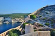 Постер, плакат: BONIFACIO : citadelle remparts et vue sur le mer