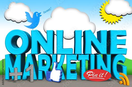canvas print picture Online Marketing