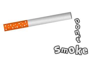 Nicht rauchen - Don't smoke