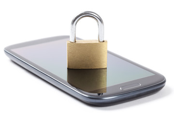 Locked Phone - Stock Photo