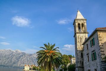 Orthodox Church i Perast, Montenegro