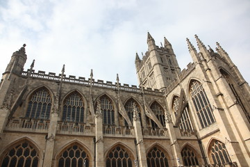 Cathedral in Bath, England