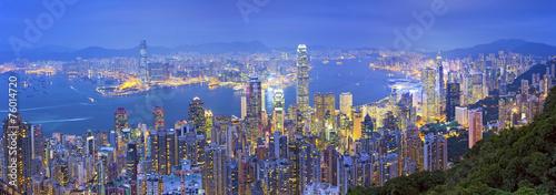 Papiers peints Hong-Kong Hong Kong Panorama.