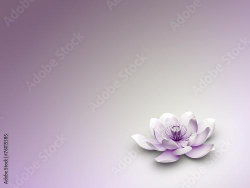 canvas print picture Lotusblüte