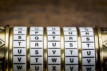 trust word as password