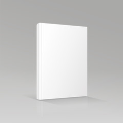 blank book cover vector illustration