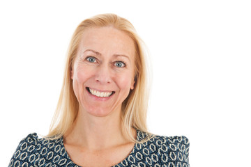 Portrait woman middle age