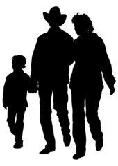 Families in hat