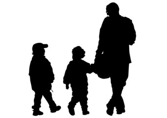 Kinders and father