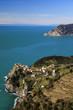 Village de Corniglia en Italie