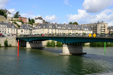 France, the picturesque city of Pontoise
