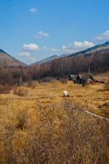 Spring on Circum-Baikal Road to the south of Lake Baikal