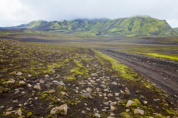 Famous icelandic hiking destination, Iceland, landmannalaugar