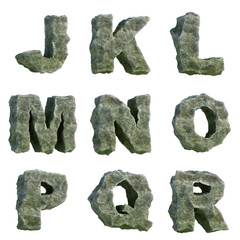 Stone letters (part 2 of 3)