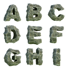 Stone letters (part 1 of 3)