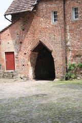 Burghof auf Burg Stargard