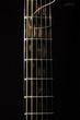 Leinwanddruck Bild - Acoustic 6 string guitar fretboard isolated on the black