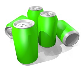 Green render cans