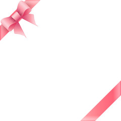 Pink bow tape
